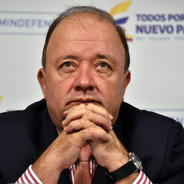 Colombian Defense Minister Luis Carlos Villegas