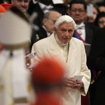 Image: Pope Emeritus Benedict XVI