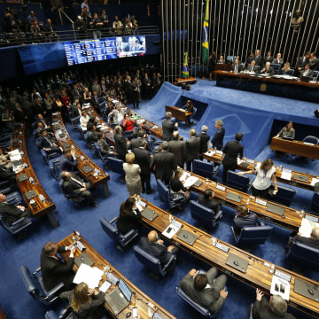 Image: Brazil Lawmakers Vote On Impeachment of President Dilma Rousseff