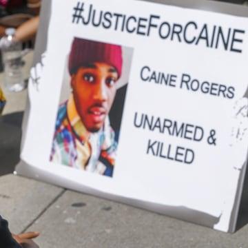 Image: Police shooting protest in Atlanta, Georgia