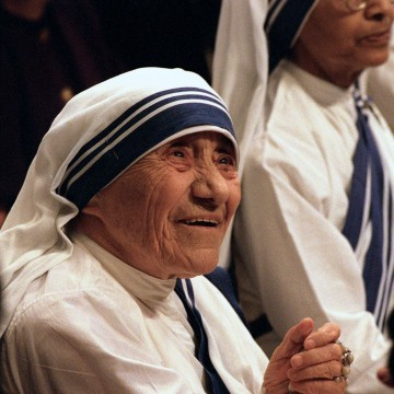 Image: Mother Teresa in 1997