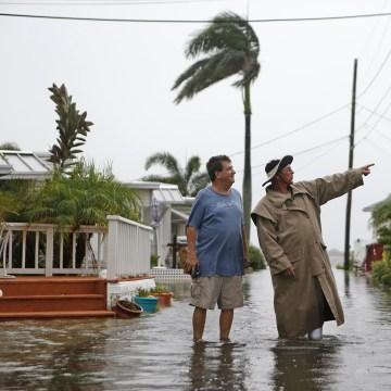 Image: Hurricane Hermine Bears Down On Florida's Gulf Coast