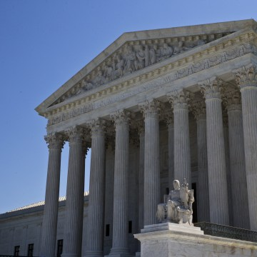 What happens to a case when heard by the Supreme Court?