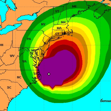 IMAGE: Hermine wind projection
