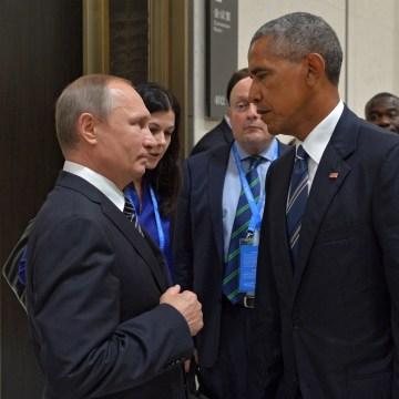 Image: Russian President Vladimir Putin and U.S. President Barack Obama.