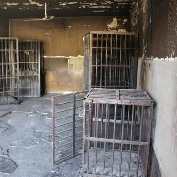 Image: A cell used by ISIS in Fallujah