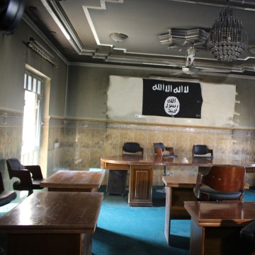 Image: An ISIS court in Fallujah