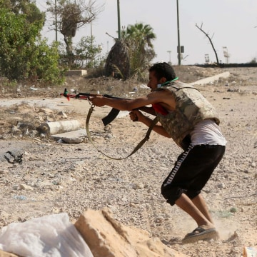 Image: LIBYA-CONFLICT-SIRTE