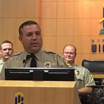 Deputy Chief of Police Jose Salcido at his promotion ceremony Wednesday, September 7.