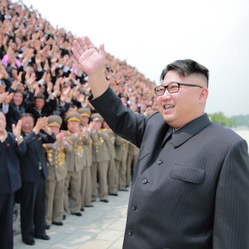 Image: Kim Jong Un in image released on June 29, 2016