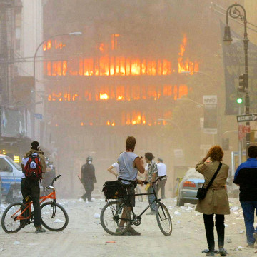 IMAGE: 2001 World Trade Center attack