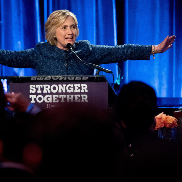 Image: Hillary Clinton says many of Trump's supporters are 'irredeemable'