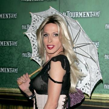 Image: Alexis Arquette in 2008