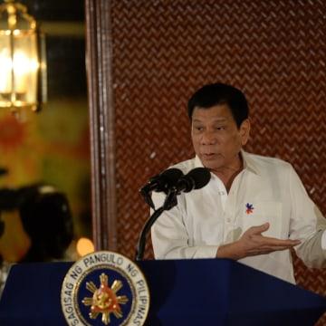Image: Duterte speaks about U.S. killings of Muslims in the 1900s