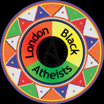 London Black Atheists logo