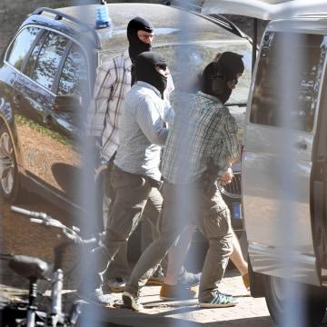 Image: Islamic State militant suspect