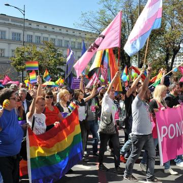 Gay Pride March in Serbia
