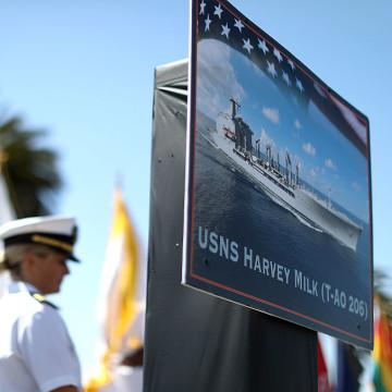 US Navy Ship Naming Honors And San Francisco Icon Gay Activist Harvey Milk