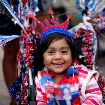 USA: Holiday: 4th of July Celebration at Legoland