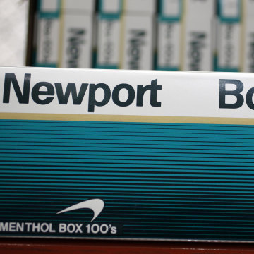 IMAGE: Newport cigarettes