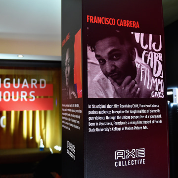 Francisco Cabrera featured at the AXE Collective Vanguard Honours.