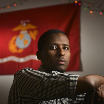 Ibrahim Hashi, a Muslim veteran of the United States military