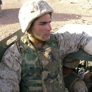 Image: Rajai Hakki enlisted in the Marines after 9/11 and served as an interpreter in Iraq