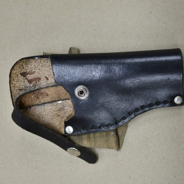 Image: A gun holster that police said was in the possession of Keith Lamont Scott is seen in a picture provided by the Charlotte-Mecklenburg Police Department