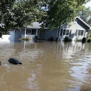 IMAGE: Cedar Falls flooding
