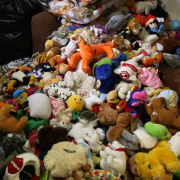 Image: Toys to be sent to Syria