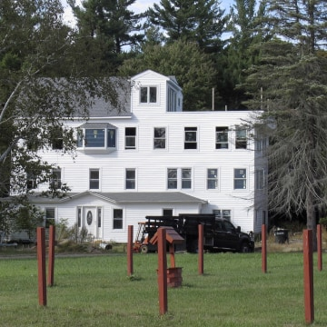 Image: The home of Nathan Carman in Vernon, Vt.