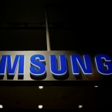 File photo of Samsung Electronics logo at its headquarters in Seoul
