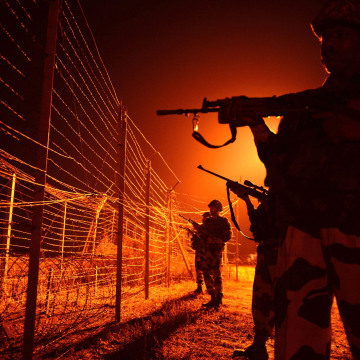 Image: Indian Border Security Force