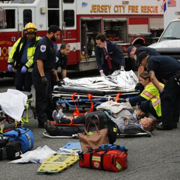 Image: NJ Transit train crash