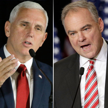 Pence and Kaine