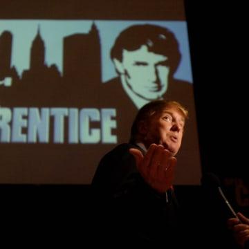 Image: Donald Trump in 2004