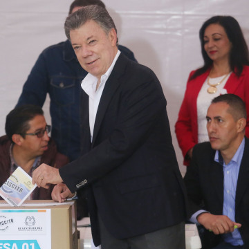 Image: Colombia Votes On Peace Accord With FARC