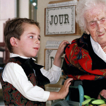 Image: Jeanne Calment died at the age of 122 in 1997