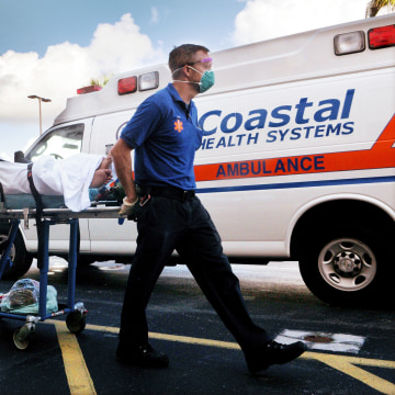 PATIENTS EVACUATED CAPE CANAVERAL HOSPITAL