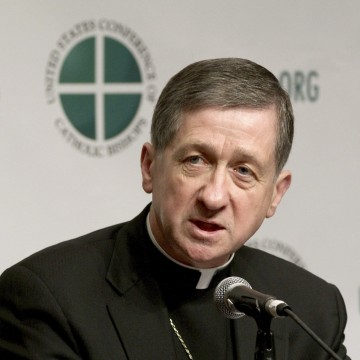 Image: Blase Cupich, pictured here in 2011, was one of the 17 new cardinals named by Pope Francis.