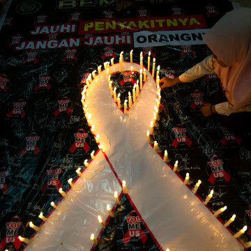 INDONESIA-HEALTH-AIDS