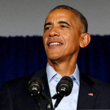 Image: Obama delivers remarks at a senatorial campaign fundraiser event for Duckworth in Chicago