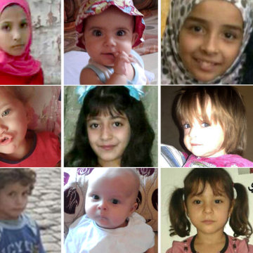Image: Nine children killed in Aleppo