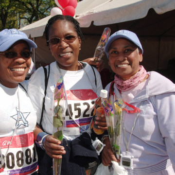 10th Annual Entertainment Industry Foundation's Revlon Run/Walk For Women in New York