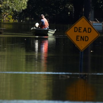 Image: Flooding in North Carolina