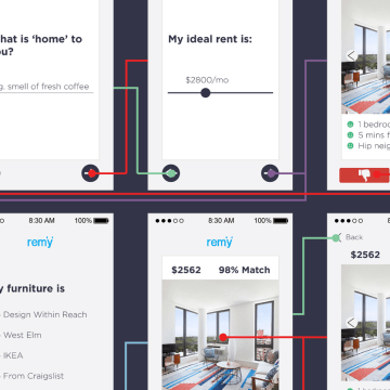 REMY is an app that wants to make the apartment hunting experience easy and more mobile