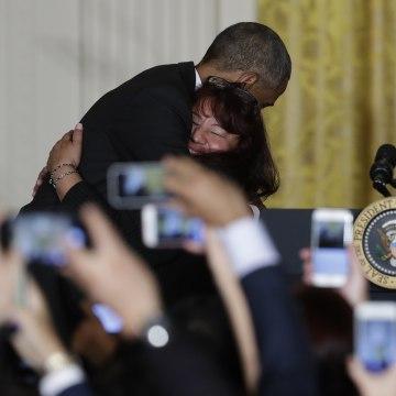 Image: Barack Obama, Roxane Giron