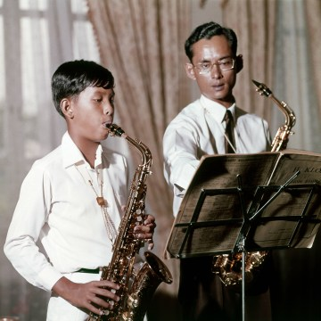 Image: Thai King Bhumibol Adulyadej