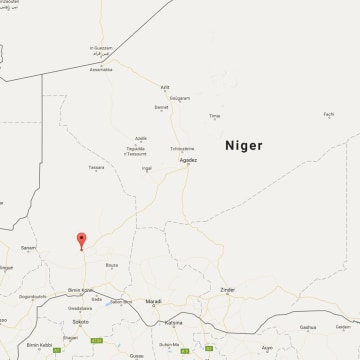 US Citizen Kidnapped In Niger By Unknown Group Of Assailants - Us embassy niger map