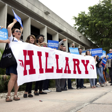 Image: Hillary Clinton campaigns Event in Miami, Florida